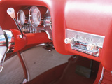 Vintage Red Dashboard of Car in Good Condition