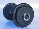 Black Dumbbell for Workout
