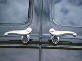 Elegant Hearst Door Handles on Back of Van