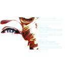 Woman's Eye with Target and Website Information