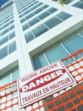 Danger Sign for Building Under Construction