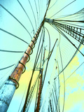 Close-up of Sailboat Masts