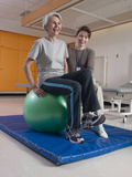 Patient with Rehabilitation Specialist