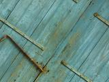 Close-up of Antique Wooden Doors