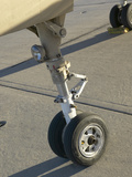 Landing Gear Wheels of an Airplane