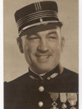 Victor Mclaglen British Actor in British Silent Films and American Talkies Seen Here in Uniform