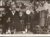 Eugene Turpin French Scientist in His Laboratory