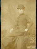 Connie Gilchrist English Actress in Her Riding Clothes