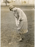 Princess Lokowitz Social Reformer and Enthusiastic Golfer Enjoys a Round