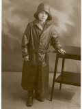 Boy in Rainwear 1930