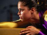 Portrait of Woman Gymnast