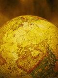 World Globe Showing No America