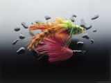 Colorful Fly-Fishing Lures