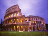 Colosseum at Night  Rome  Italy