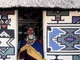 Ndebele Woman Wearing Beads  South Africa