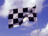 Checkered Flag Flying