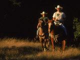 Couple Horseback Riding  Jack London State Park  CA