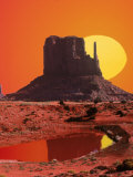 Monument Valley at Sunrise  Arizona