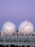 Methane Storage Spheres  Miami  FL