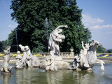 Fountain at Waddesdon Manor  England