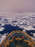 Ice Breaking Bellot Strait