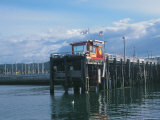 Red Fishing Wharf  CA