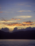 Seascape at Sunset  Antigua  West Indies