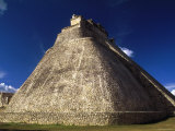 Temple of the Sorcerer  Yucatan  Mexico