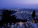 Acropolis &amp; Likavitos Hill  Athens  Greece