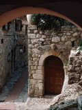 Stone Archway  Doorway  Provence  France