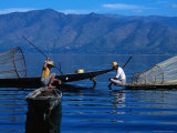 Fishermen  Inle Lake  Burma