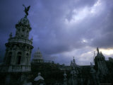 Downtown with Stormy Skies  Havana  Cuba