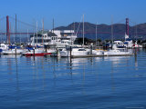 Boats in Marina  San Francisco  CA