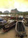 Fishing Boats  Krabi  Thailand