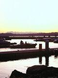 Sunset on Marina  Kirkland  WA