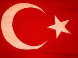 Turkish Flag  North Aegean  Izmir  Turkey