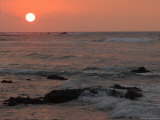 Big Island of Hawaii - Sunset from Beach