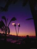 Sunset at Mama's Fish House
