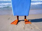 Orange Flippers  Recreio Beach  Rio de Janeiro