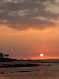 Big Island of Hawaii - Sunset from Beach