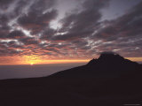 Sunrise Above Clouds at 5000 Meters  Mt Kilimanja