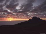 Sunrise Above Clouds at 5000 Meters  Mt Kilimanja