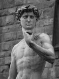 Statue of David by Michelangelo  Florence  Italy