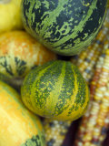 Sweetcorn and Gourds