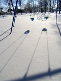 Swings Among Snow