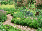 Potager Brick Paving