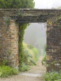 View Through a Gateway and into the Garden Beyond  Hadspen Gardens Somerset