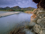 Estuary of Fango River  La Corse  France