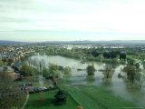 Floods  River Severn  UK