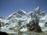Mount Everest  Himalaya  Nepal